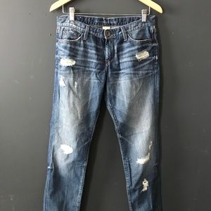 BR Distressed Skinny Jeans Sz29